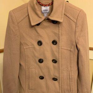 ❄️JCPenney Camel Dress Coat